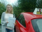 Jess Dell passed with IN2GEAR Stafford