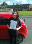 Jodi Turnock  passed with IN2GEAR Stafford