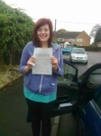 Kelly Hart passed with IN2GEAR Stafford