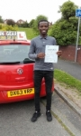 Kennedy Moghere passed with IN2GEAR Stafford