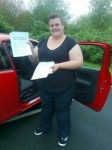 Kimberley Dawson passed with IN2GEAR Stafford