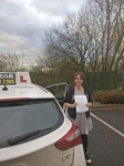 Lauren Round passed with IN2GEAR Stafford