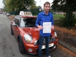 Nathan Howell passed with IN2GEAR Stafford