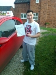 Nick passed with IN2GEAR Stafford