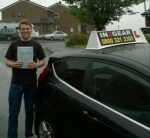 Pete Booker passed with IN2GEAR Stafford