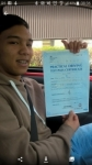 Russell Gabuz passed with IN2GEAR Stoke