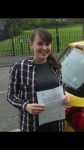 Sharice Griffiths passed with IN2GEAR Stoke