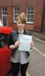 Siobhan Hunt passed with IN2GEAR Stafford