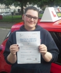 Sophie Donnelly passed with IN2GEAR Stoke