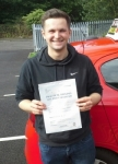 Will Rowley passed with IN2GEAR Stoke