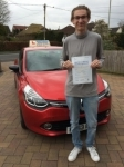 Callum passed with Independent Driving School