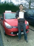 Chris passed with Independent Driving School