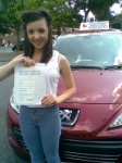 Claire passed with Independent Driving School