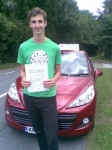 Conrad passed with Independent Driving School