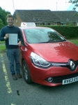 Edward passed with Independent Driving School