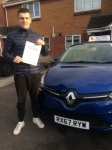 Jordan passed with Independent Driving School