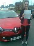 Katie passed with Independent Driving School