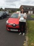 Kim passed with Independent Driving School
