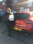 Leah passed with Independent Driving School