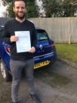 Liam passed with Independent Driving School