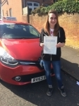 lucy passed with Independent Driving School