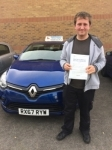 Luke passed with Independent Driving School