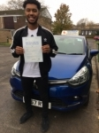 Nathan passed with Independent Driving School