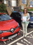 Olivia passed with Independent Driving School