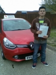 Parbin passed with Independent Driving School