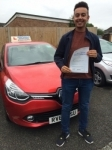 Ryan passed with Independent Driving School