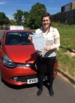 Sam passed with Independent Driving School