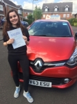 Shanine passed with Independent Driving School