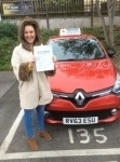 Simone passed with Independent Driving School