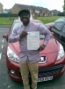 Thierno passed with Independent Driving School