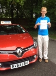 Tim passed with Independent Driving School
