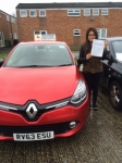Trishna passed with Independent Driving School