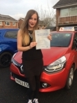 Anna-Marie passed with Independent Driving School