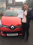 Gabby passed with Independent Driving School