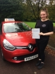 Laura passed with Independent Driving School