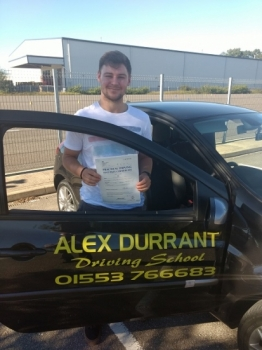 Driving Lessons Kings Lynn - Another 1st Time Pass<br />