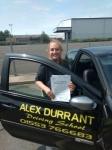 Tamara Proctor passed with Alex Durrant Driving School