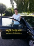 Luke Gray passed with Alex Durrant Driving School