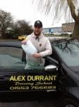 Scott Cooper passed with Alex Durrant Driving School