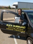 Vanessa Yong passed with Alex Durrant Driving School
