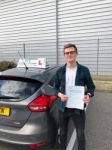 Bran Searle passed with Ivy School Of Motoring