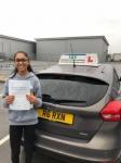 Kajol Sembi passed with Ivy School Of Motoring