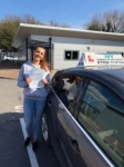 Oliwia Molinska passed with Ivy School Of Motoring