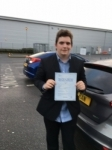 James Moore passed with Ivy School Of Motoring