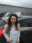 Megan Northam passed with Ivy School Of Motoring