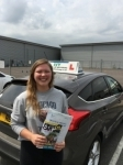 Chloe Chamberlain passed with Ivy School Of Motoring